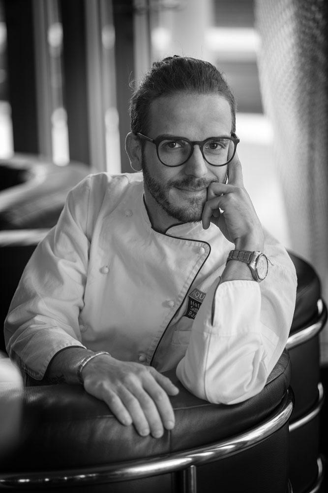 Simone Gottardello Chef di Evo Bardolino