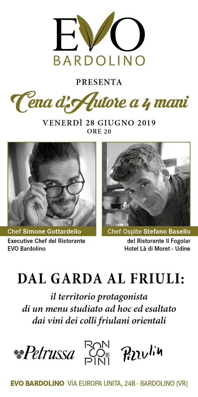 Ristorante Evo Bardolino Cena d'autore sul Lago di Garda